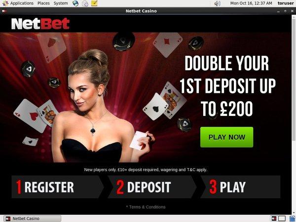 Net Bet Poker Sign Up Form