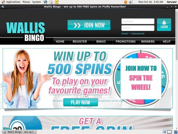 Wallis Bingo Gratis Slots