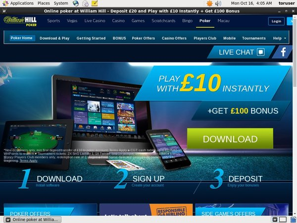 Williamhill 50 Free Spins