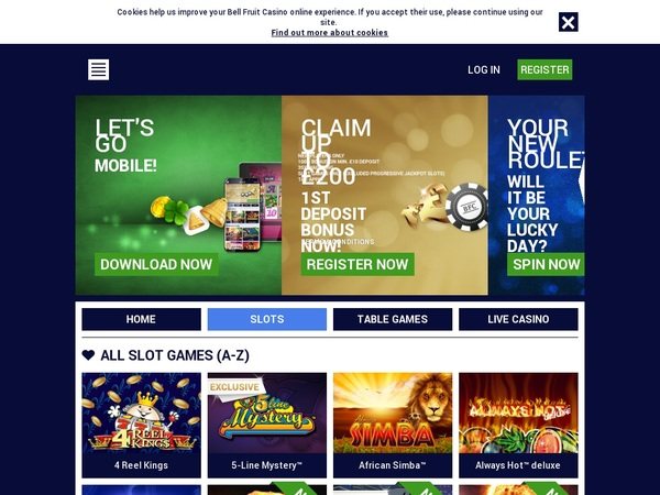 Bellfruitcasino Gambling Sites