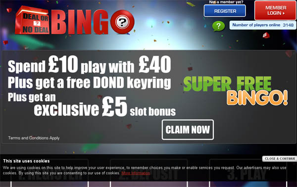 Dealornodealbingo No Wagering