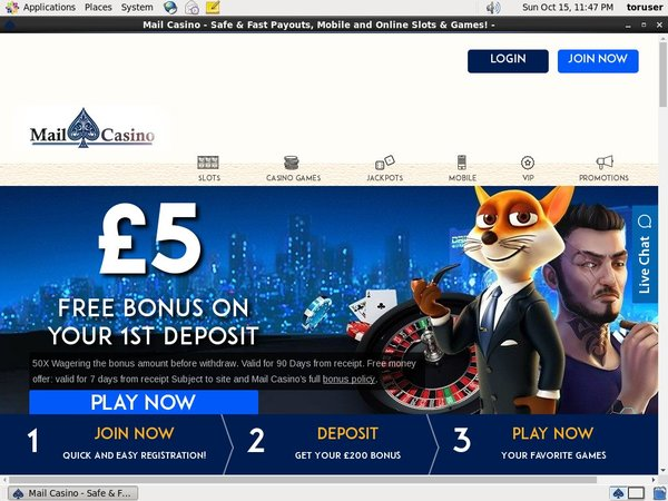 Mail Casino Bonus Free Spins