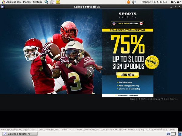 Sportsbetting Special Offers