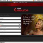 Super Gaminator Paybyphone