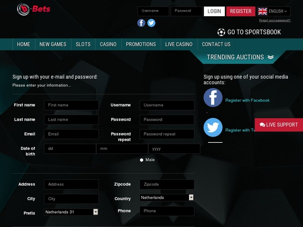 B-bets Join Form