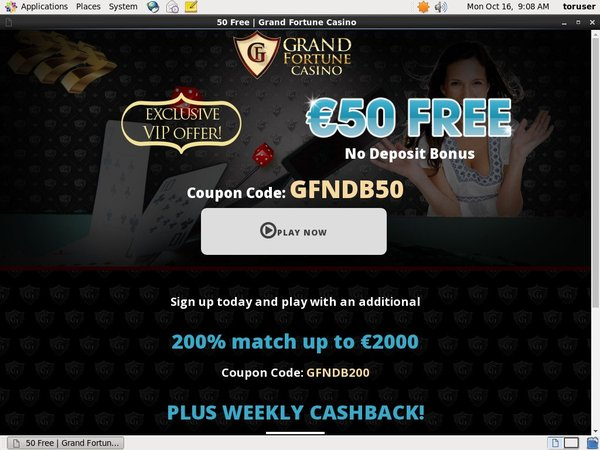 Grand Fortune Advertisement