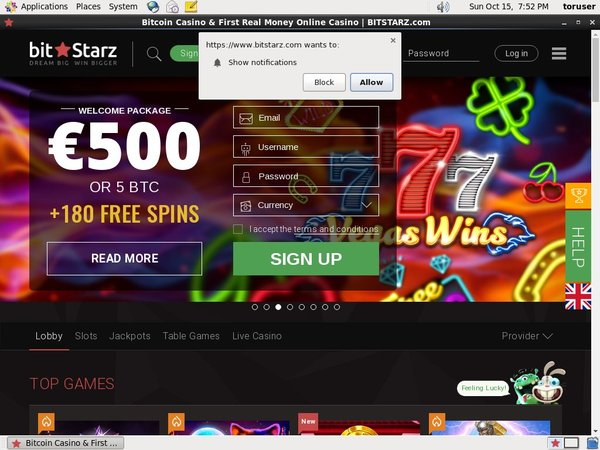 Bitstarz Slot Machines Free