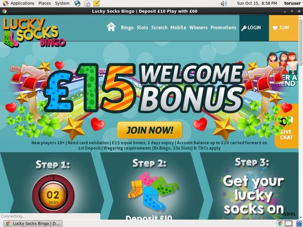 Luckysocksbingo Offer Paypal?