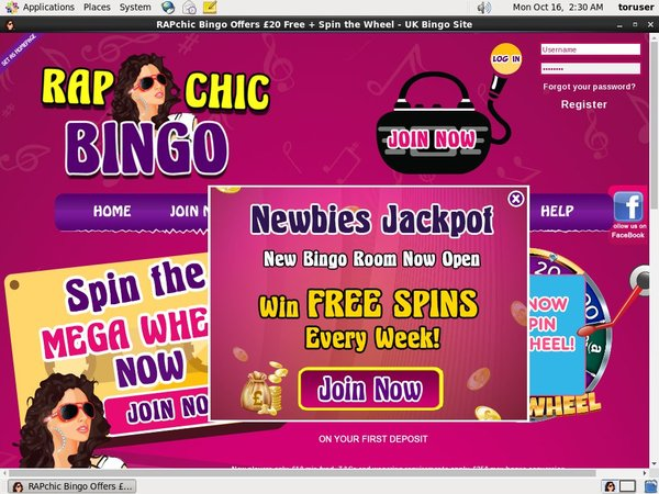Rapchicbingo Sign Up Free