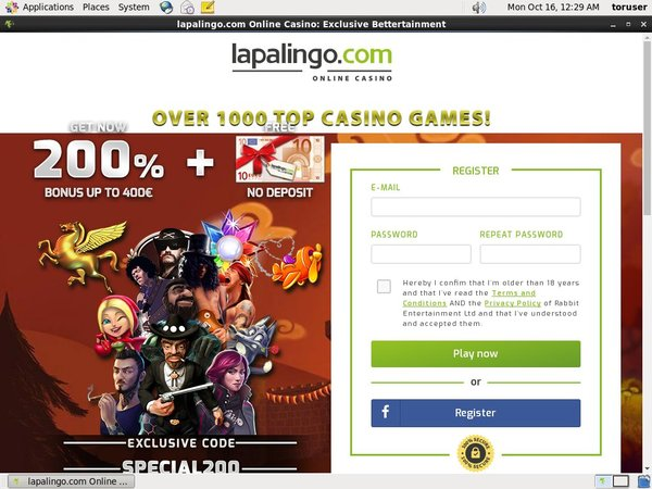Lapalingo Beste Casinos