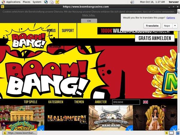 Boombang Casino With Bitcoin