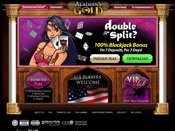Aladdinsgoldcasino Match Bet
