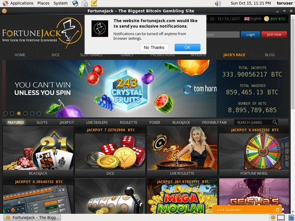 Best Online Casino Fortune Jack