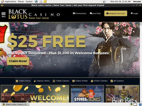 Black Lotus Casino Registration Promo Code