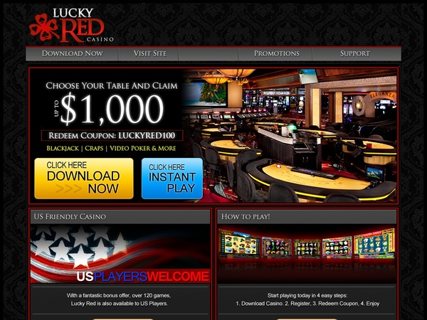 Luckyredcasino Offers Today