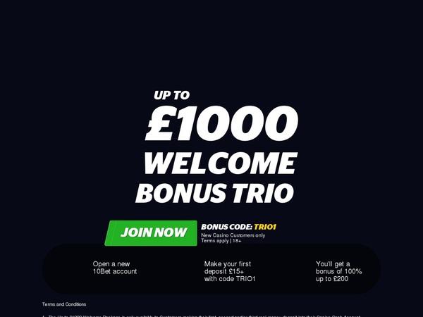 Best Online Casino 10 Bet