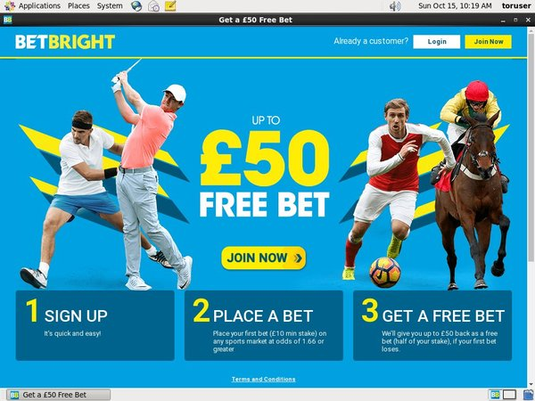 Join Bet Bright Promotion