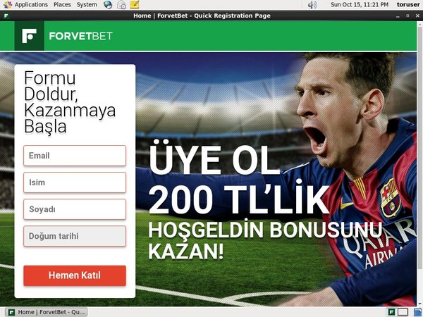 Forvet Bet Sports Betting