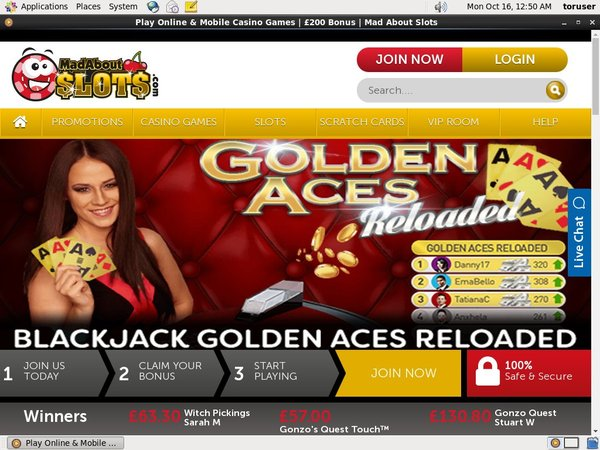 Madaboutslots Mobile App
