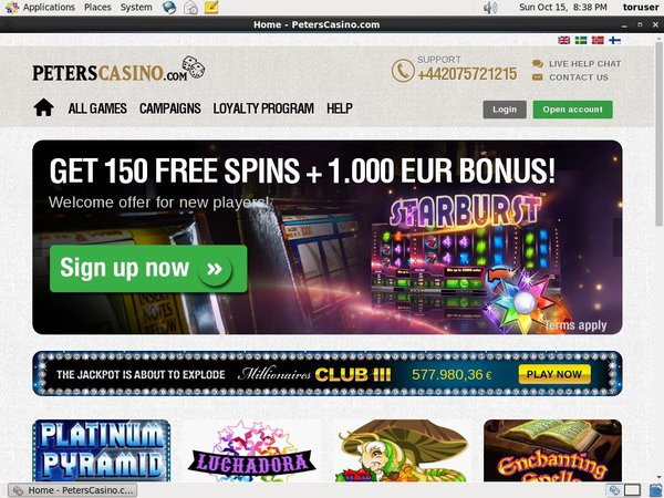 Bonus Bet Peters Casino