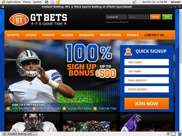 Gtbets Sign Up Code