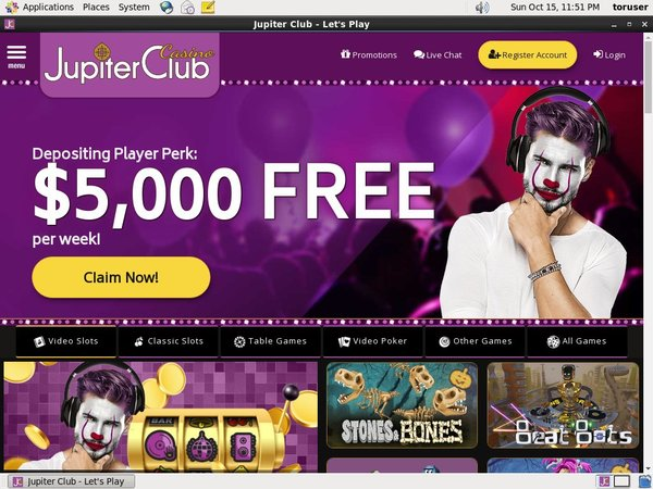 Jupiterclub Upgrade Account